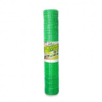 Сетка пластиковая садовая Клевер 30x35 мм 1x50 м зеленая. Винница. фото 1