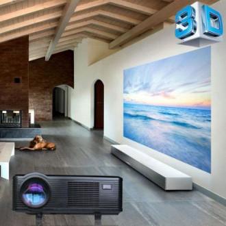 Excelvan CL720D Новый Проектор + HDMI TV тюнер 3000 люмен. Киев. фото 1