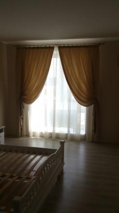 Комплект штор и гардин в спальню. Ткани Турция. Шторы сборка 1:1,5, гардины 1:2. Днепр, Днепропетровская область. фото 5