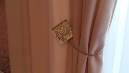 Комплект штор и гардин для детской комнаты. Ткани Турция. Сборка гардина 1:2, шт. Днепр, Днепропетровская область. фото 3
