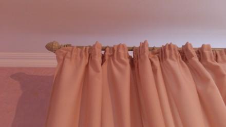 Комплект штор и гардин для детской комнаты. Ткани Турция. Сборка гардина 1:2, шт. Днепр, Днепропетровская область. фото 4