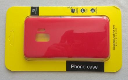 Чехол силиконовый Samsung Galaxy S9. Александрия. фото 1