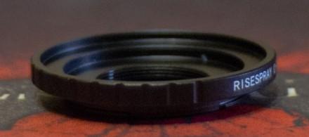 Перехідник C mount FX Fuji Fujifilm X-A1 A2 A3, X-M1, X-E1 E2. Запорожье. фото 1