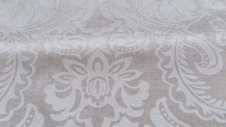 Отрез испанской ткани высота 206см ширина 140см, хлопок, рисунок белый, изнанка . Днепр, Днепропетровская область. фото 2