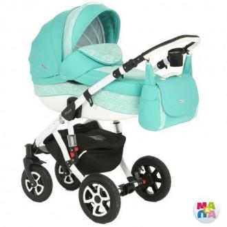 Продам детскую коляску 2 в1 Adamex Barletta 147g. Кривий Ріг. фото 1