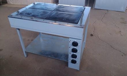 Плита электрическая кухонаая промышленная ЭПК-4 Б. Днепр. фото 1