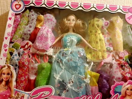 Кукла с нарядами (20 шт.). Киев. фото 1