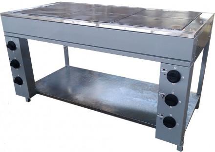 Плита электрическая кухонаая промышленная ЭПК-6 Б. Днепр. фото 1