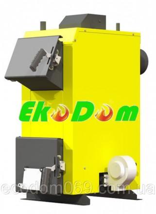 Твердотопливный котел Kronas Eco 12 кВт. Ирпень. фото 1