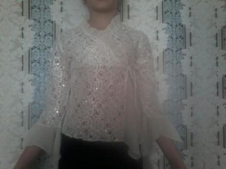 Нарядная блузка для праздников. Конотоп. фото 1