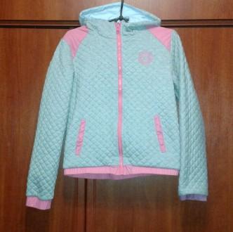 Курточка двухсторонняя для девочки Tiffosy (Португалия). Зміїв. фото 1