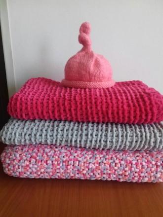 ᐈ пледы одеяла для новорожденных в коляску и кроватку велюровые