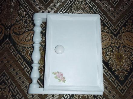 ключница с балясинами  прованс или шебби шик. Белая Церковь. фото 1