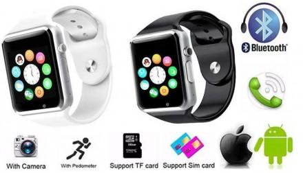 Умные наручные часы Smart Watch A1 - удобный и стильный гаджет, который сделает . Черкассы, Черкасская область. фото 2
