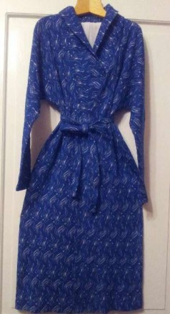 Трикотажное платье из шерсти с вискозой. Ужгород. фото 1