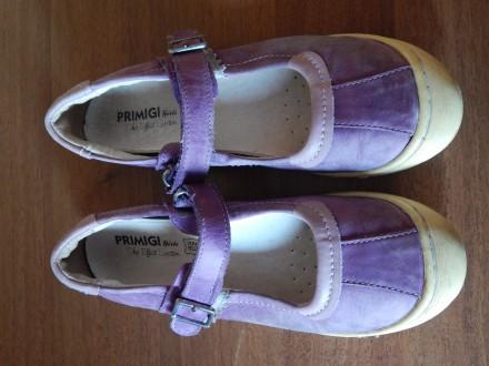 Туфли для девочки Primigi, 34 размер, кожа, мокасины балетки. Чернигов. фото 1