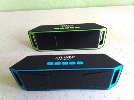 Супер звук Портативная Bluetooth колонка, радиоприёмник, MP3 плеер Atlanfa 7725. Чернигов. фото 1