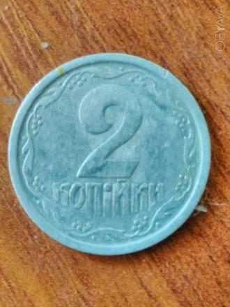 Монета. Две копейки , 1994г. Алюминевая. Чернигов. фото 1