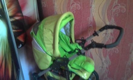 Детская коляска зимне-летняя 2 в 1 срочно. Кременчуг. фото 1