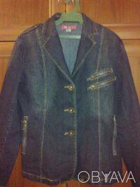Джинсовый пиджак размера XL.. Одесса. фото 1