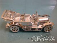 Модель ретро-автомобиля 5,8х2,2см с футляром, 80-г годы в отличном состоянии. Киев, Киевская область. фото 2