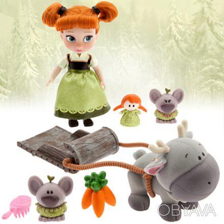 В наборе представлена мини кукла, точная копия большой куклы анимационной коллек. Запорожье, Запорожская область. фото 1