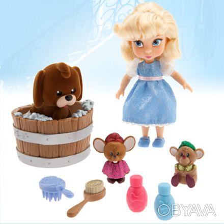 В наличии анимационный набор малышка Золушка с аксессуарами. В этиом наборе пред. Запорожье, Запорожская область. фото 1