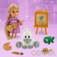 Игровой набор мини кукла аниматор принцесса Рапунцельс аксессуарами Дисней. Запоріжжя. фото 1