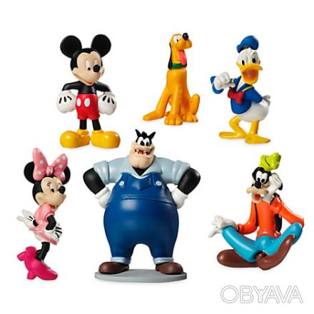 Размер фигурок: 10 см  Производитель: Disney , США  Для детей старше 3-х лет . Днепр, Днепропетровская область. фото 1