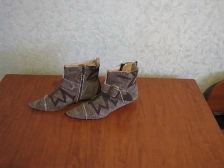 Модные козачки, джинс и кожа, Италия. Запорожье. фото 1