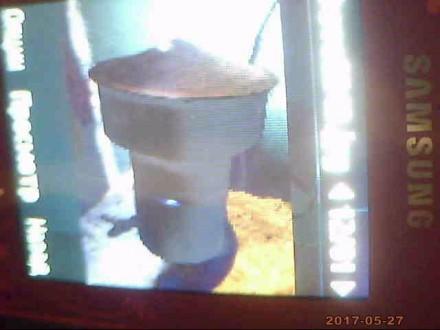 Продаю насадку вентиляционную , дымовую трубу диаметром 100 мм-2шт. Николаев. фото 1