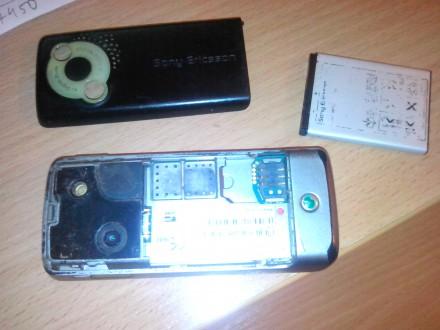 мобильный телефон sony ericsson k510i  задняя крышка в комплекте. БЕЗ зарядного . Днепр, Днепропетровская область. фото 5