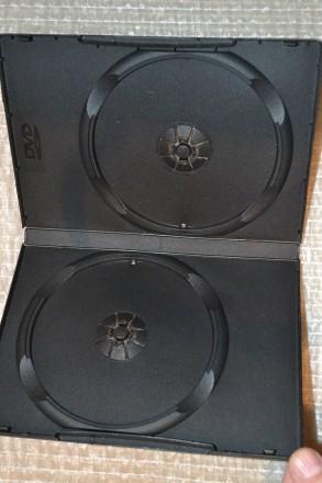 Коробка на 2 ДВД диска (есть количество). Одесса. фото 1
