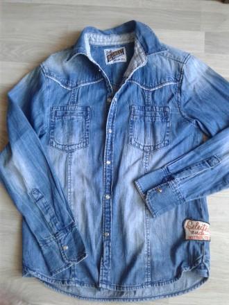 Сорочка джинсова. Стрый. фото 1