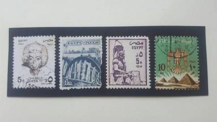 К Вашему вниманию восемь почтовых марок Египта. Цена за все - 45 грн.  Состоя. Ровно, Ровненская область. фото 2