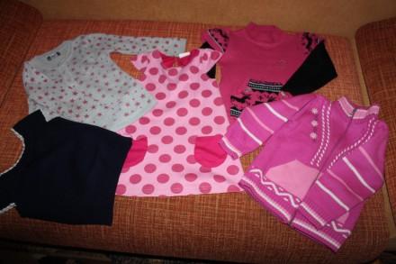 Комплект теплой одежды на 4-6 лет (5 вещей). Запоріжжя. фото 1
