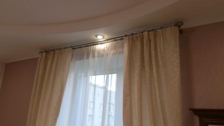 Гардина 3000мм х 2500мм 1шт, шторы 1400мм х 2500мм 2шт. Днепр, Днепропетровская область. фото 5
