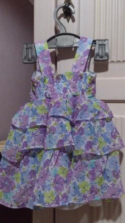 Платье на девочку + трусики на 18-24месяца. Днепр, Днепропетровская область. фото 3