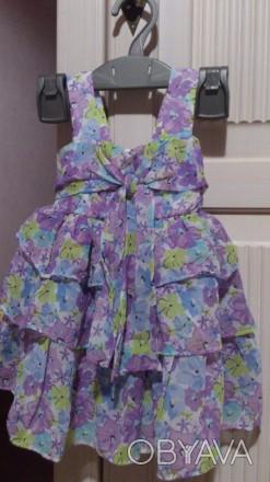 Платье на девочку + трусики на 18-24месяца. Днепр, Днепропетровская область. фото 1