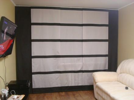 Японские шторы. Днепр. фото 1