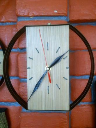 Часы настенные, дерево, ручная работа, разные. Механизм бесшумный. Цены 200 - 40. Сумы, Сумская область. фото 4