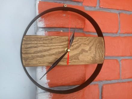 Часы настенные, дерево, ручная работа, разные. Механизм бесшумный. Цены 200 - 40. Сумы, Сумская область. фото 6