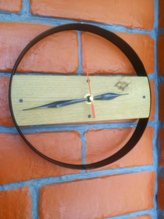 Часы настенные, дерево, ручная работа, разные. Механизм бесшумный. Цены 200 - 40. Сумы, Сумская область. фото 7