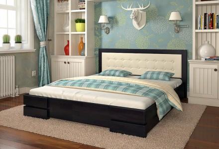 Кровать деревянная Регина двуспальная.. Чернигов. фото 1