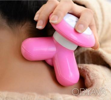 Вибромассажер Mini Massager - идеальное решение для снятия усталости в любых мыш. Лубны, Полтавская область. фото 1
