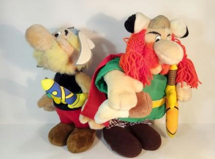 Астерикс и Обеликс Asterix и Obelix игрушки. Сокиряны. фото 1