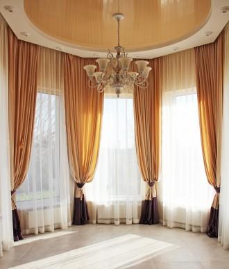Дизайн и пошив штор.Римские шторы.Карнизы,монтаж. Одесса. фото 1