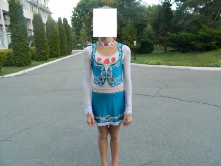Купальник/платье для фигурного катания. Киев. фото 1