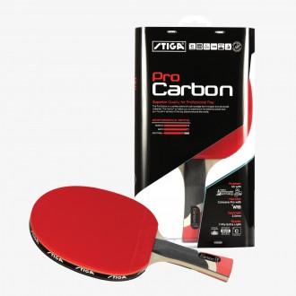 Профессиональная ракетка для настольного тенниса STIGA PRO CARBON 76a9acd552944