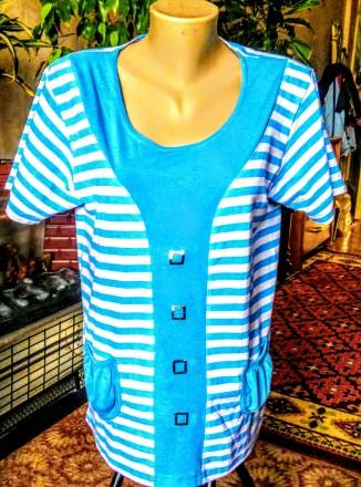 Нарядная блуза HCA fashion,Италия,размер-XL. Ужгород. фото 1